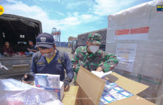 Indonesia Terima Hibah 11,3 Juta Masker Bedah dari Siangapura - JPNN.com