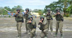 Lihat, 6 Polwan Brimob Terbaik Itu Siap Menghadapi KKB di Papua