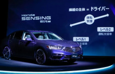 Honda Legend, Sedan Otonom Level 3 Pertama di Dunia, Hanya 100 Unit - JPNN.com
