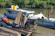 Material TMMD Tiba di Kampung Kombay Papua, Kapten Zabir Ucapkan Kalimat Ini - JPNN.com