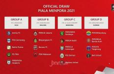 Hasil Drawing Piala Menpora 2021, Persija Masuk Grup Neraka - JPNN.com