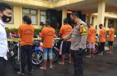 Selama 10 Hari, Polres Sukabumi Amankan 31 Motor Hasil Curian, 8 Pelaku Ditangkap - JPNN.com