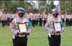 Aipda M Ibrahim dan Brigadir Rengki Dipecat tidak Dengan Hormat, Cuma Foto yang Hadir - JPNN.com