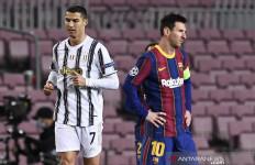 Pertama kali! Messi dan Ronaldo tak Beraksi di Perempat final Liga Champions - JPNN.com