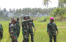 Reaksi Kolonel Nuryadi Saat Wakasal Tinjau Lokasi Ketahanan Pangan - JPNN.com