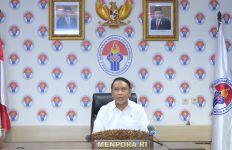 Tim Bulu Tangkis Indonesia Tiba di Tanah Air, Begini Kata Menpora Amali - JPNN.com