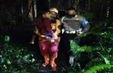 Naik Motor Bonceng Tiga, Sekeluarga Masuk Jurang, Anak Tersangkut, Ibu Hilang, Nenek Meninggal - JPNN.com