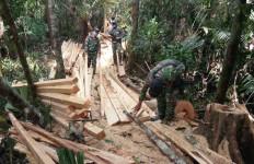 Prajurit TNI Melihat Tumpukan di Jalur Ilegal, Mencurigakan - JPNN.com