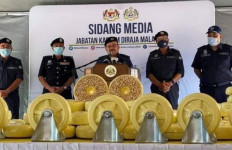 Luar Biasa, Otoritas Malaysia Bikin Kartel Narkoba Internasional Tekor Rp 18,2 Triliun - JPNN.com