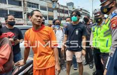 Alex Garang saat Tantang Polantas, Begitu Ditangkap Langsung Ciut Begini, Lihat Tampangnya - JPNN.com