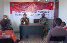 Kodim 1711/Boven Digoel Sosialisasikan Penerimaan Prajurit TNI AD - JPNN.com
