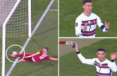 Serbia Vs Portugal Berakhir Dramatis, Ronaldo Banting Ban Kapten - JPNN.com