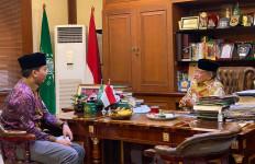 Ketum Terpilih PB PMII Gus Abe Menemui Kiai Said Aqil, Ini yang Dibahas - JPNN.com