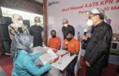 Naik Dua Kali Lipat, Tahun Ini BNI Selenggarakan Akad Massal 4.675 debitur KPR FLPP - JPNN.com
