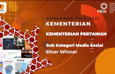 Media Sosial Kementan Meraih Penghargaan di Ajang PR Indonesia Award - JPNN.com