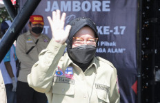 Mensos Tri Rismaharini: Salam dari Bapak Presiden untuk Tagana - JPNN.com
