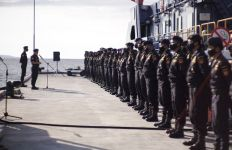 PSO Bea Cukai Pantoloan Lepas Patroli Laut Jaring Wallacea 2021 - JPNN.com