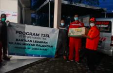 PT PP Cepat Tanggap Salurkan Bantuan kepada Korban Bencana - JPNN.com