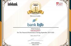 Bank BJB Sabet Penghargaan Infobank Top BUMD Award 2021 - JPNN.com
