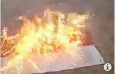 Pembakar Bendera Merah Putih Ditangkap, Inisialnya SN, Umur 29 Tahun - JPNN.com