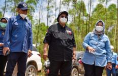 Menteri LHK Siti Nurbaya Meninjau Lokasi Calon IKN - JPNN.com