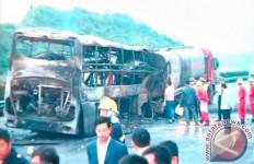 11 Tewas dalam Kecelakaan Bus China, Presiden Xi Jinping Sampaikan Duka - JPNN.com
