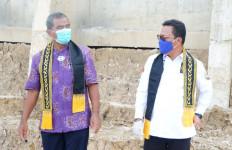Hadiri Peresmian Menara Suar, Komite II DPD Didaulat Menyerahkan Bantuan Padat Karya - JPNN.com