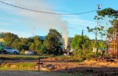 Duh Ada Semburan Lumpur Menyembur dari Sumur Pertamina, Ada Bau Menyengat - JPNN.com