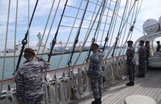 KRI Bima Suci Bertolak ke Laut Jawa Sambut Kedatangan Kapal Angkatan Laut Spanyol - JPNN.com