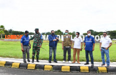 Bamsoet bersama Dorna Sport dan FIM Meninjau Kesiapan Bandara Internasional Lombok - JPNN.com