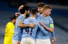 Manchester City Butuh Gol Menit 90 untuk Menaklukkan Borussia Dortmund - JPNN.com