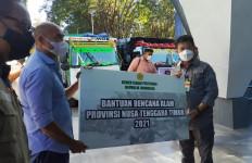Mentan Syahrul Beri Bantuan kepada Warga Terdampak Bencana Akibat Badai Seroja di NTT - JPNN.com