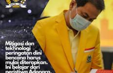 Aziz Syamsuddin Dorong Penerapan Mitigasi Bencana dan Teknologi Peringatan Dini - JPNN.com