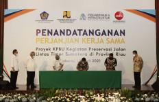 Menteri PUPR: Preservasi Jalintim Riau Diharapkan Meningkatkan Perekonomian - JPNN.com