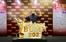 PT PP Sabet 2 Penghargaan dalam Anugerah BUMN 2021 - JPNN.com