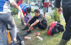 Rabu Pagi Terjadi Peristiwa Mengerikan di Jalan Demak Surabaya - JPNN.com