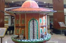 Unik, Miniatur Masjid Model Limasan Ini Terbuat dari Makanan Lho - JPNN.com