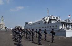 KRI Karang Tekok-982 Resmi Pensiun dari Dinas Aktif TNI AL - JPNN.com