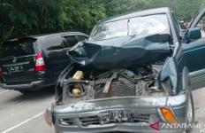 Kecelakaan Beruntun Tewaskan 2 Orang, Pajero dan Pikap Masuk Jurang, Innalillahi - JPNN.com