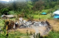 KKB Kembali Melakukan Aksi Pembakaran, Pasukan TNI-Polri Datang Disambut Tembakan - JPNN.com