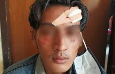 Belum Tuntas Mencuri Sepeda Motor, Yazid Tergoda Es Kelapa Muda, Ha ha, Rasakan Bro! - JPNN.com