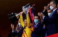 Barca Juara Copa del Rey, Messi: Sungguh Disayangkan! - JPNN.com