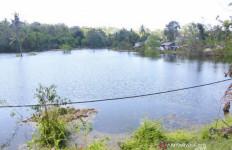 Muncul Pasca-badai Seroja, Begini Penampakan Danau Baru di Kupang - JPNN.com