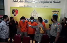 40 Kilogram Ganja Gagal Beredar di Deliserdang, Tiga Tersangka Diamankan Polisi - JPNN.com