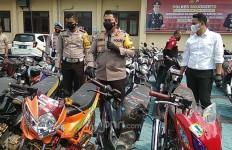 Ini Syarat Pengambilan Motor Sitaan dari Razia Balap Liar di Kantor Polisi - JPNN.com