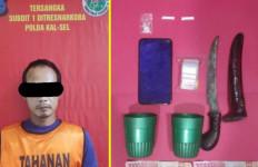 Pengedar Narkoba Serang Polisi Pakai Sajam, Makin Nekat Saja - JPNN.com
