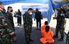 TNI AL Kembali Tangkap Penyelundupan Narkoba Sebanyak 100 Kg - JPNN.com