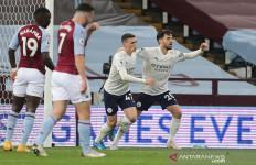 Diwarnai 2 Kartu Merah, Manchester City Taklukkan Aston Villa - JPNN.com