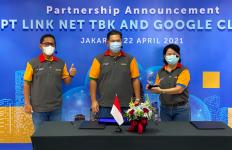 Percepatan Transformasi Digital, Link Net Gandeng Google Cloud Indonesia - JPNN.com