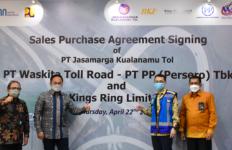 PT PP Teken SPA untuk Kepemilikan Saham di PT Jasamarga Kualanamu Tol - JPNN.com